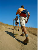 hikersclimbing